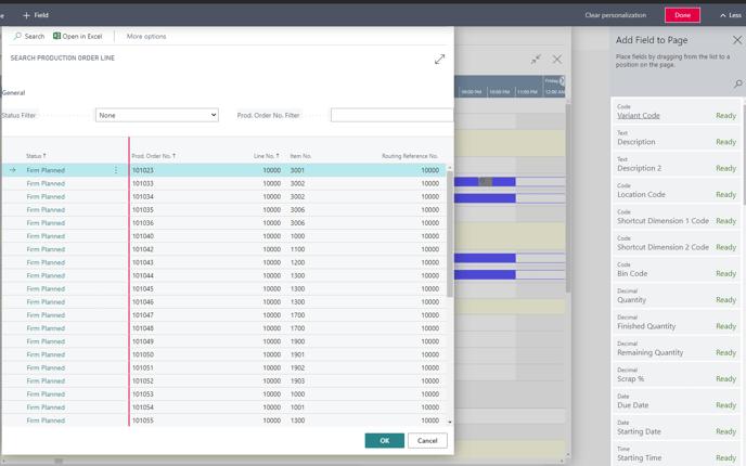 VAPS customize search fields
