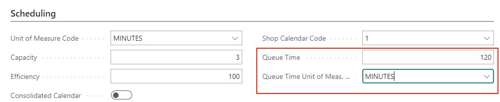 VAPS consider queue time